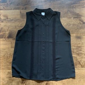 CABI Black Blouse